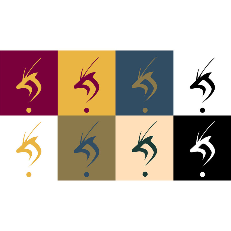 Doha logo colour schemes