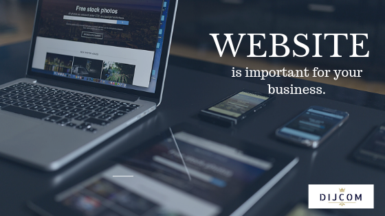 Why a website is so important for your business.