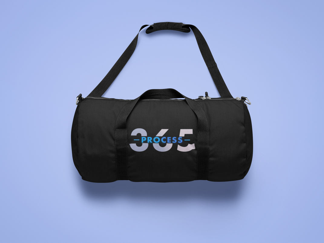 Process 365 duffle bag