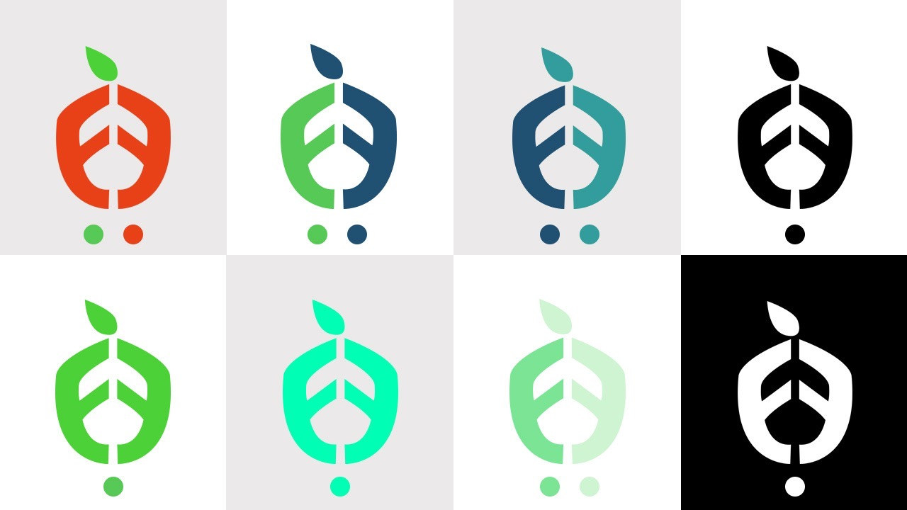 Logo colour scheme
