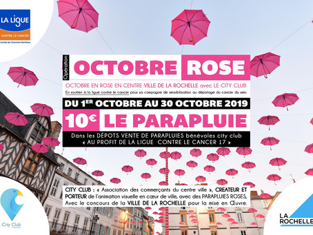 En octobre, La Rochelle se part de rose !