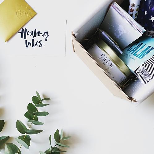 THE BOX OF CALM- SELF CARE BOX