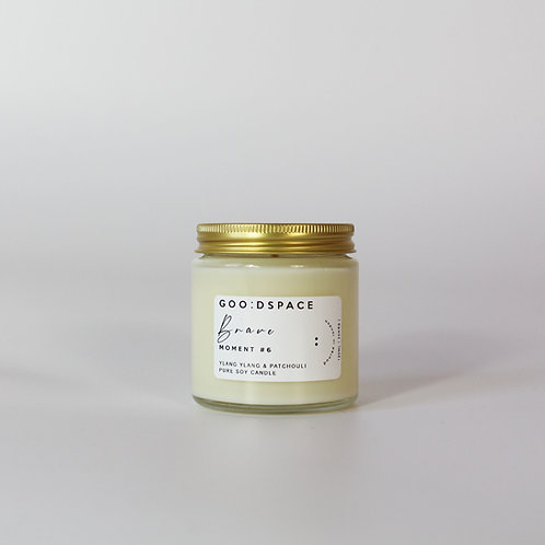 BRAVE... YLANG YLANG  &. PATCHOULI GOODSPACE SOY CANDLE