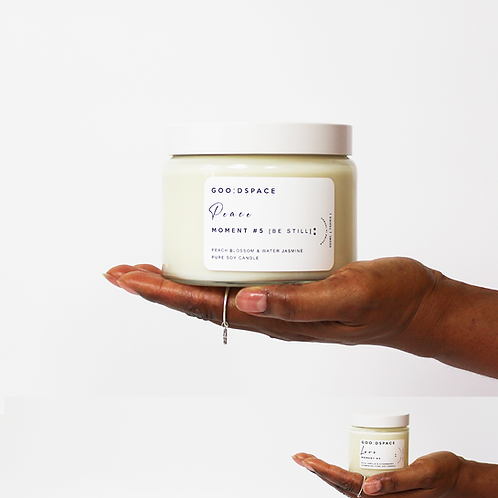 GOODSPACE MINDFUL MOMENTS AROMATHERAPY SOY CANDLE