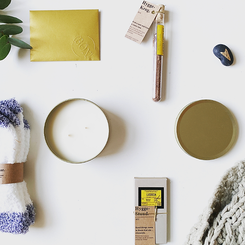 THE BOX OF. COMFORT  [HYGGE]- SELF CARE BOX