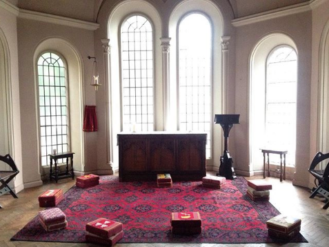Church meditation spot