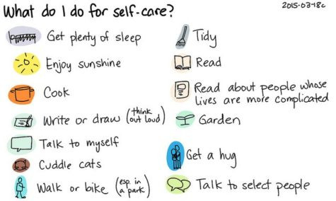 Self care to do list