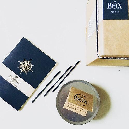 THE BOX OF CALM [DE-STRESS] - MEN'S SELF CARE BOX