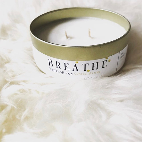 JUST A MOMENT - PURE SOY BREATHE CANDLE 200ML