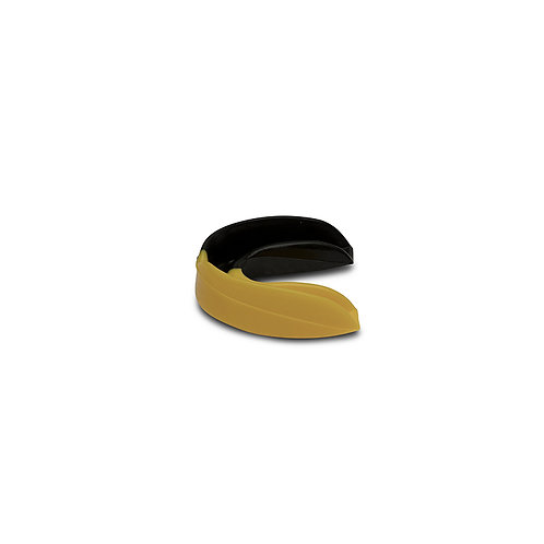 FORZA TWO COLOUR MOUTHGUARD – BLACK / YELLOW