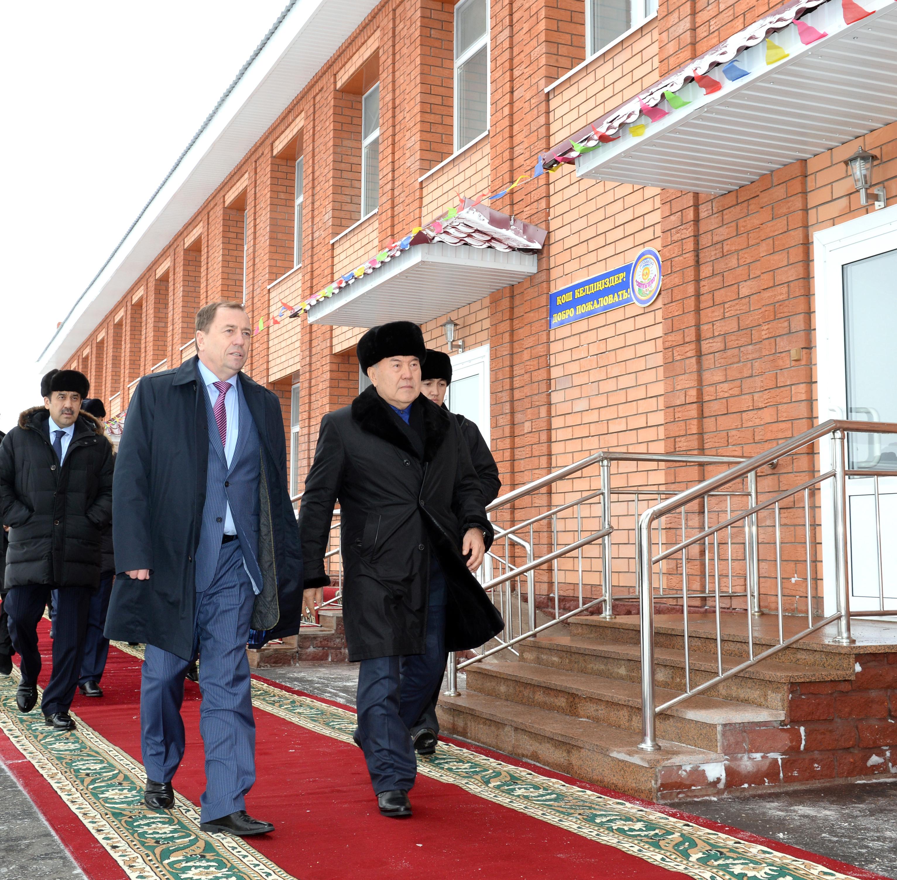 Посещения Президента РК Дет.садика