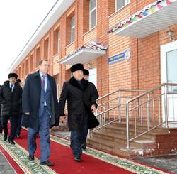 Посещения Президента РК  Д/садика