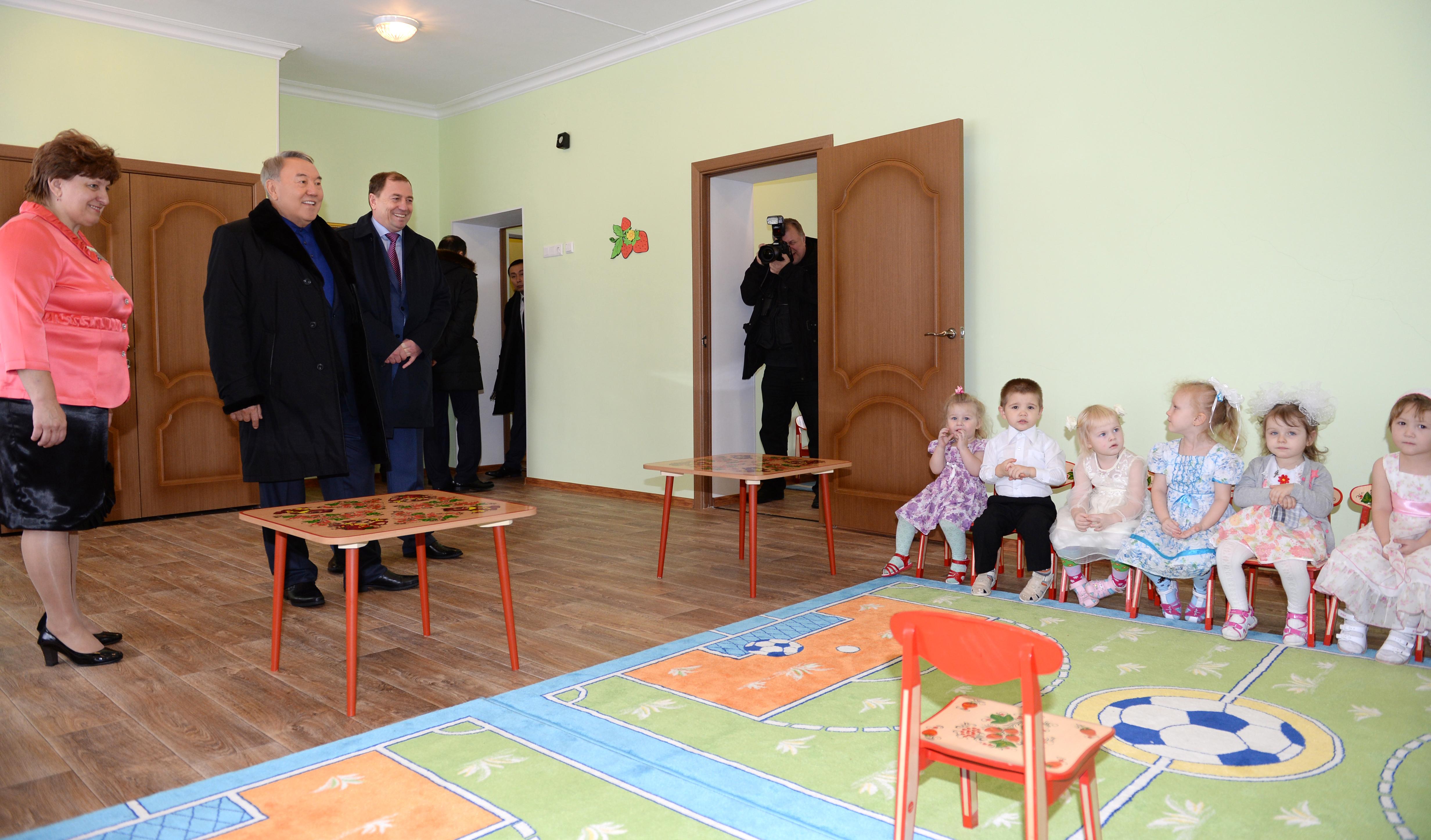 Посещения Президента РК  Д/сдика
