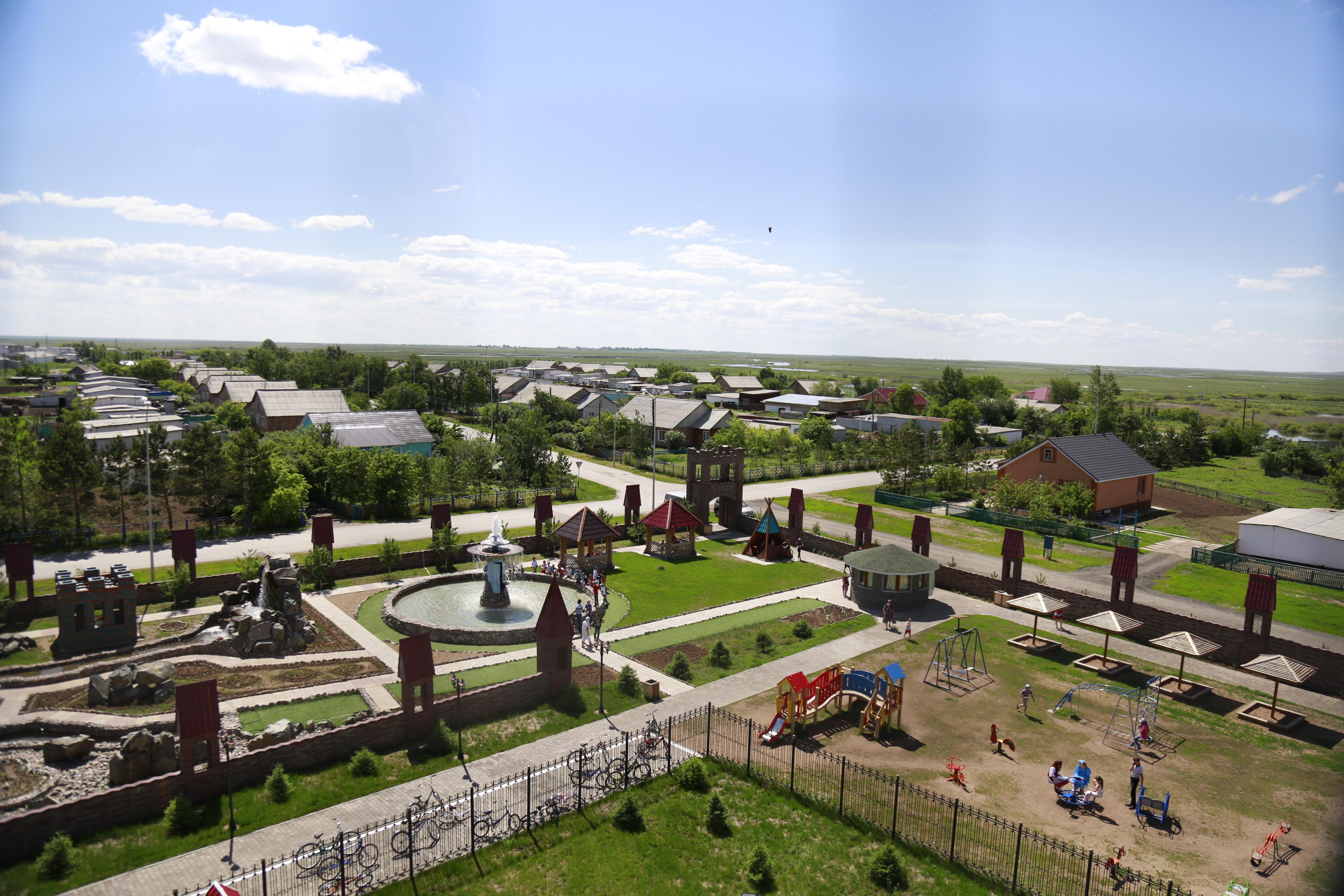 Парк Культуры(вид сверху)