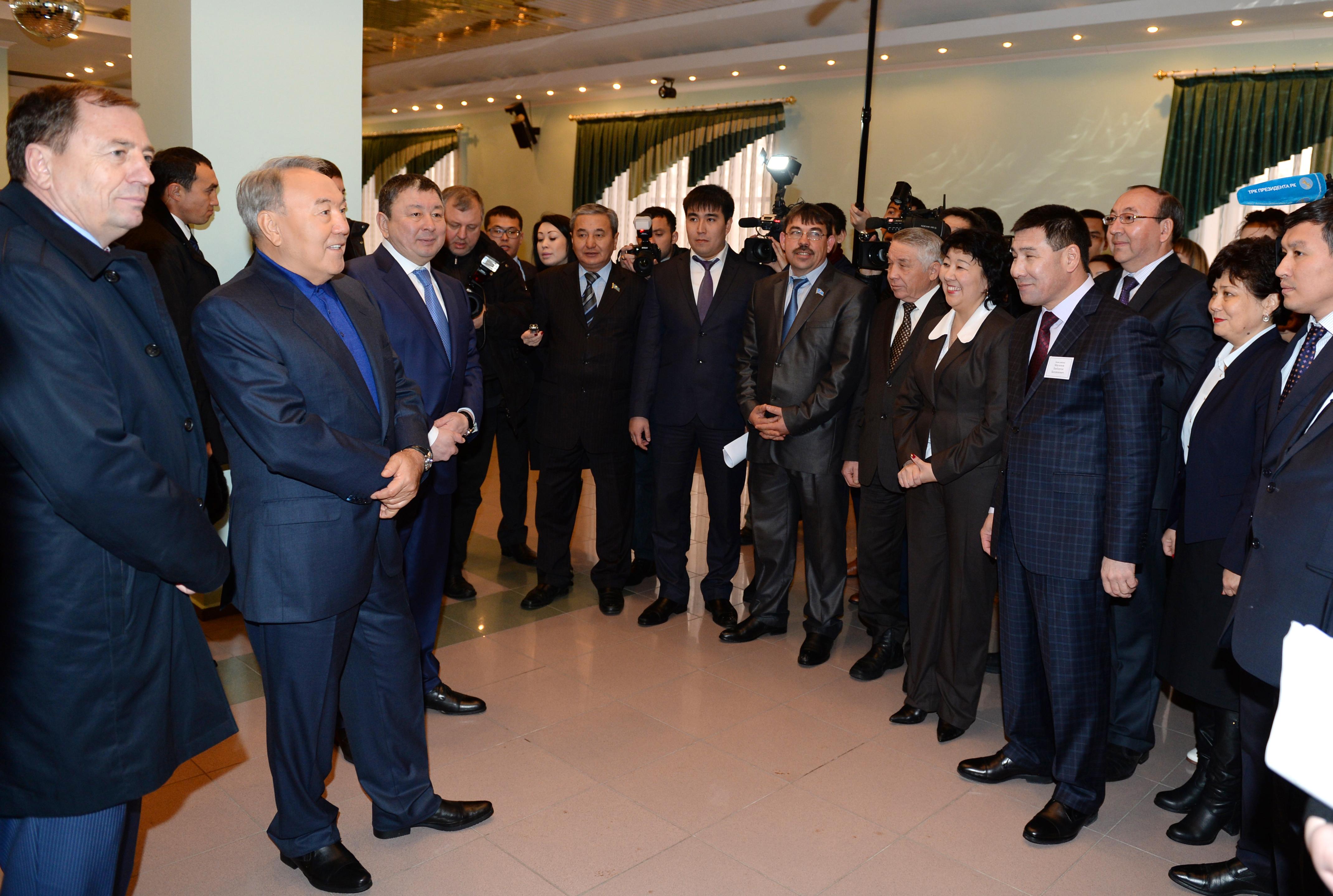 Посещения Президента РК  ДК