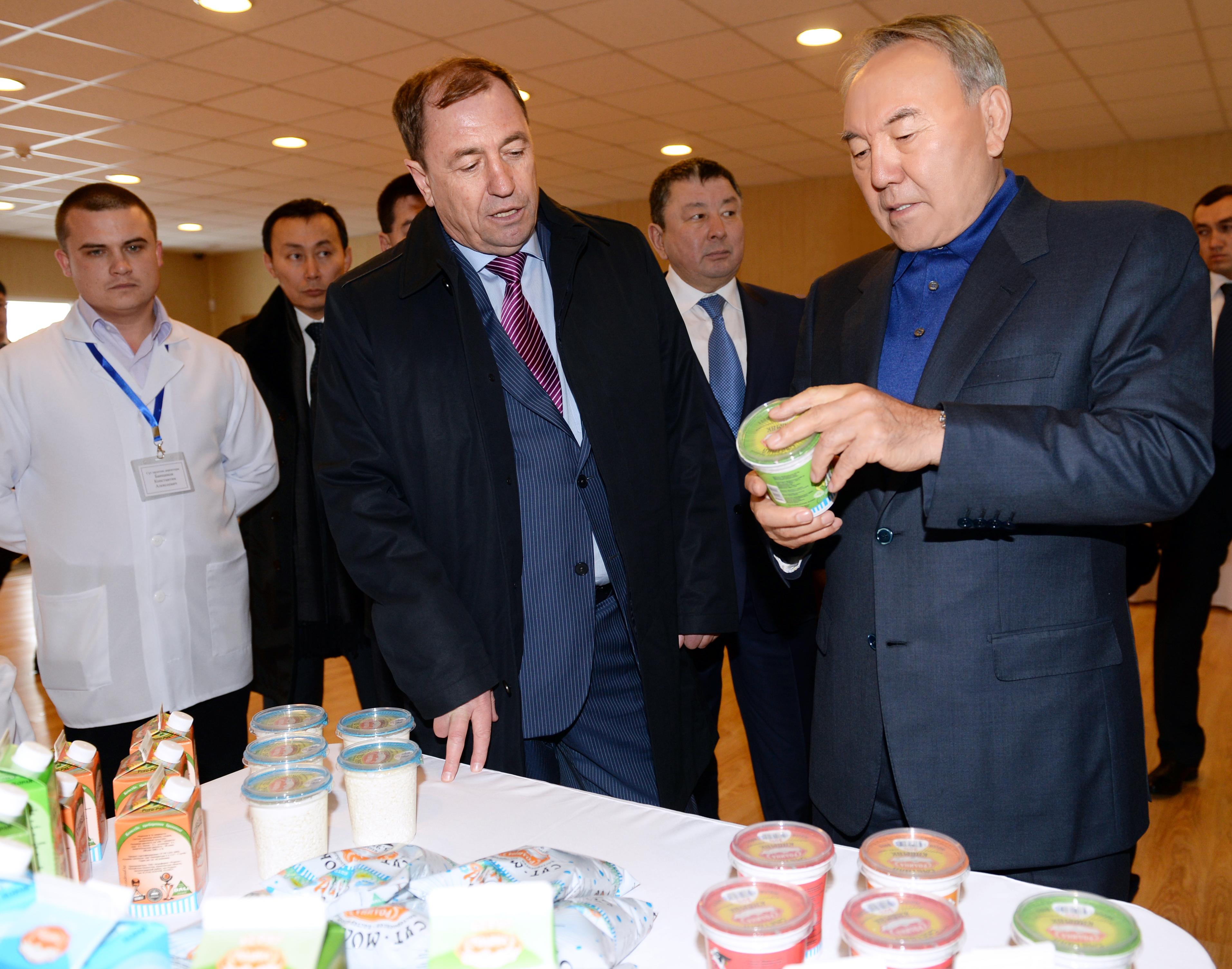 Посещения Президента РК Мол.завода