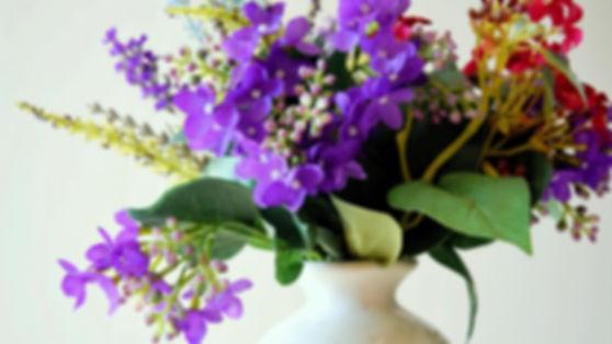blomster i vase