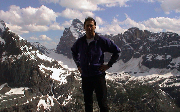 Me in the Canadian Rockies