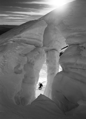 White River Glacier Keyhole