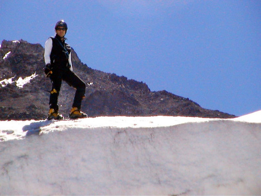 Me on Ladd Glacier