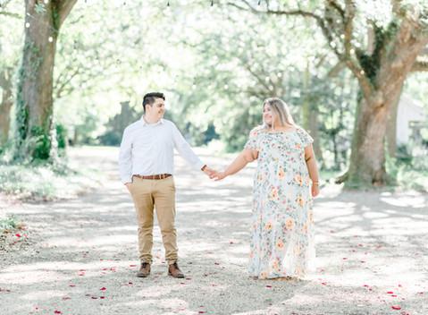 Stephanie & Brenden | Baton Rouge Engagement Session