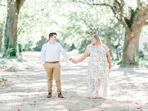 Stephanie & Brenden | Baton Rouge Engagement Session