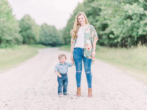 Samantha & Lucas: Mommy & Me Session | Black Bayou