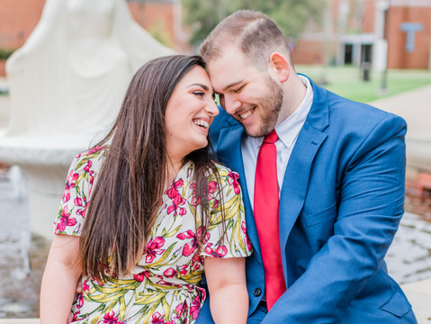 Jackie & Thomas | Downtown Ruston Engagement Session