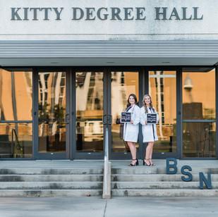 Megan & Holly | ULM Senior Session