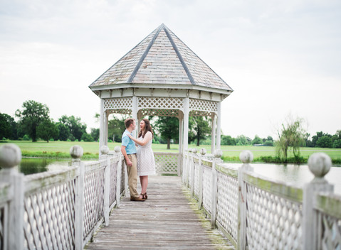 Chelsey & Griffin | Mansion at Redhill Engagement