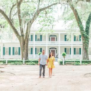 Haylee & Greg   Rosedown Plantation Engagement Session