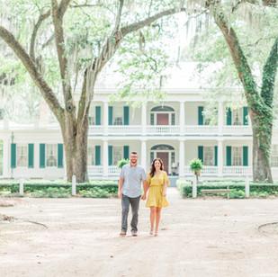 Haylee & Greg | Rosedown Plantation Engagement Session