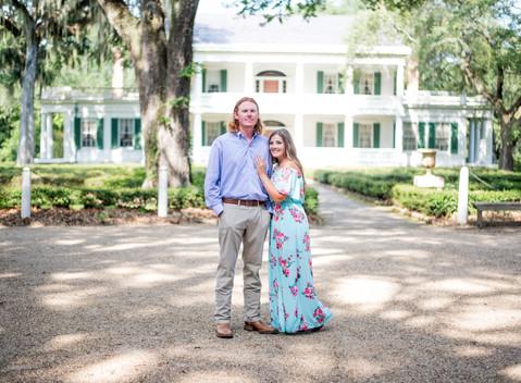 Katelyn & Tyler | Rosewood Plantation Enagement Session