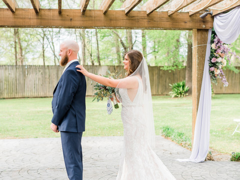 First Looks | Wedding Preparation