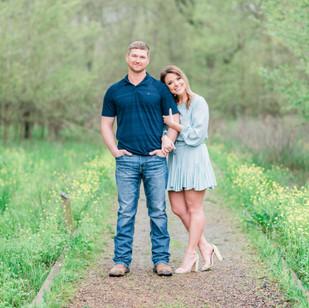 Elizabeth & Troy | Black Bayou Engagement Session