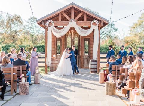 The Fernon Wedding   The Berry Barn in Amite,LA
