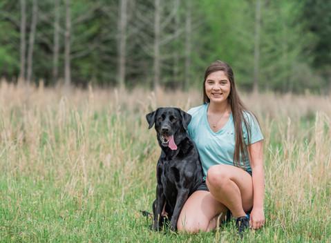 Meet Bella Roux   The Black Lab