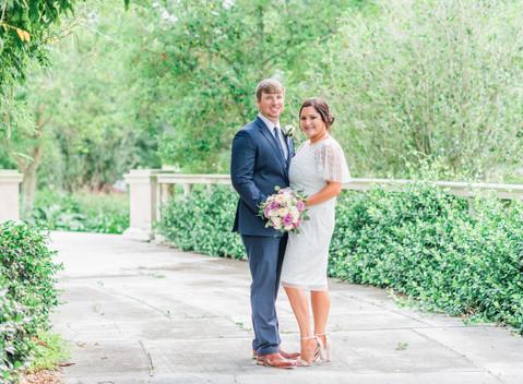 Jones Wedding | Popp Fountain & Ormand Plantation