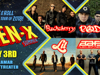 RockFest Concerts presents, Loudwire's Gen X Summer at the Miramar Amphitheater!