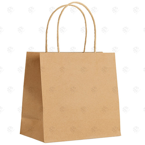 "14"" x 9"" x 15 1/2"" SUPER ROYAL Kraft Shopping Bag 200 pc./Case"