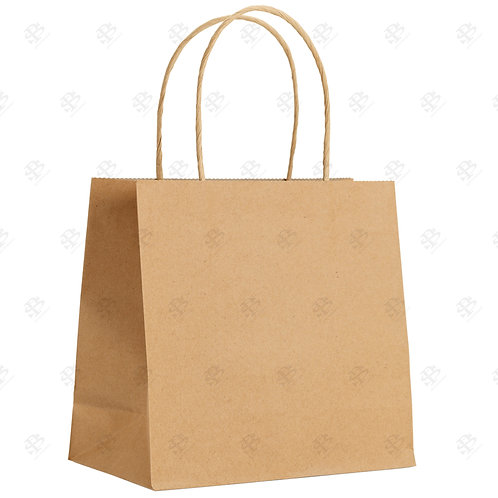 "18"" x 7"" x 19"" CARGO Kraft Shopping Bag 200 pc./Case"