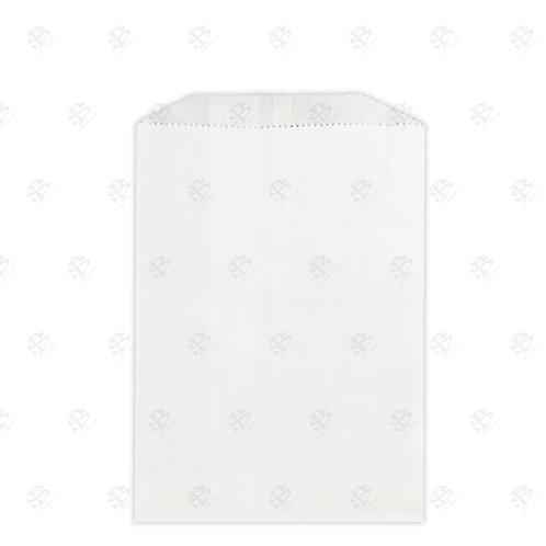 "1/2# White Gourmet Glassine Bags 4.75 x 6.75"" (1000/case)"