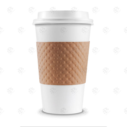 Kraft Cup Sleeve 1,300  per case