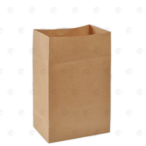 """8 1/4"""" x 5 15/16"""" x 13 3/8"""" #20 Kraft Bag 400 pc./Case"""