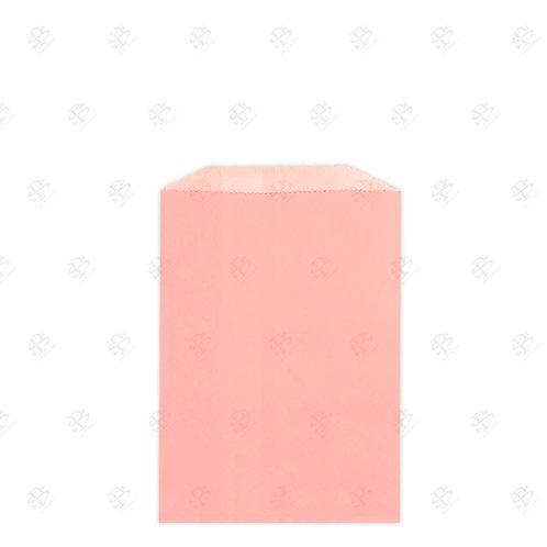 "1/4# Pink Gourmet Glassine Bags 4.75 x 6.75"" (1000/case)"