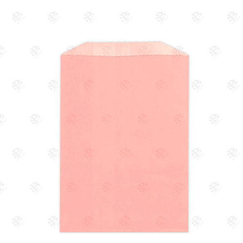 "1/2# Pink Gourmet Glassine Bags 4.75 x 6.75"" (1000/case)"