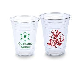 PRINTED PLASTIC CUP