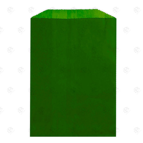 """1# Forest Green Gourmet Glassine Bags 4.75 x 6.75"""" (1000/case)"""