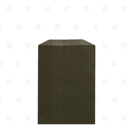 "1/4# Black Gourmet Glassine Bags 4.75 x 6.75"" (1000/case)"