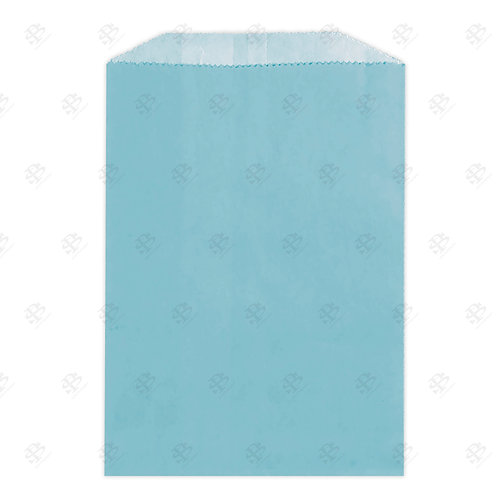 "1# Blue Gourmet Glassine Bags 4.75 x 6.75"" (1000/case)"
